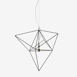Prism small | Suspended lights | Nathalie Dewez Lighting