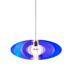 Blossom Pendant 65 Cobalt Blue / Lilac | General lighting | Bsweden