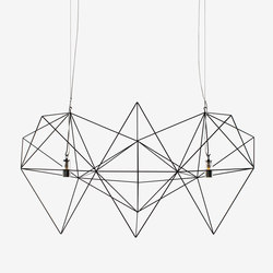 Prism large | Suspended lights | Nathalie Dewez Lighting