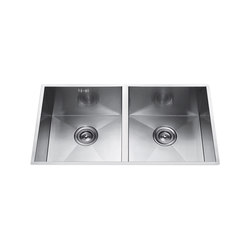 Aquaeco | Double Undermount Sink | Küchenspülbecken | BAGNODESIGN