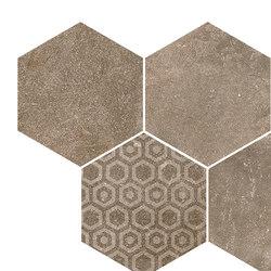 Reden | mosaico esagonale biscuit | Piastrelle ceramica | Cerdisa