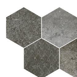 Reden | mosaico esagonale dark grey | Bodenfliesen | Cerdisa