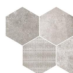 Reden | mosaico esagonale grey | Piastrelle ceramica | Cerdisa