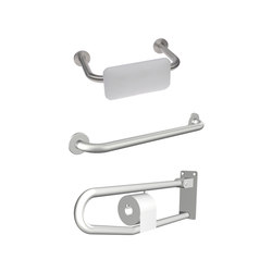 Aquaeco | Doc M3 Pack Grab Bars And Backrest | Haltegriffe / Stützgriffe | BAGNODESIGN