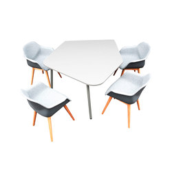 FourReal® 741 Flake | Tables collectivités | Four Design