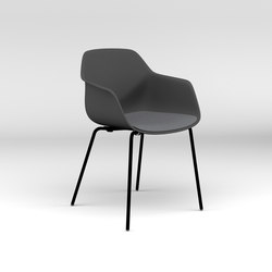 Four®Me 44 upholstery | Sillas de visita | Four Design