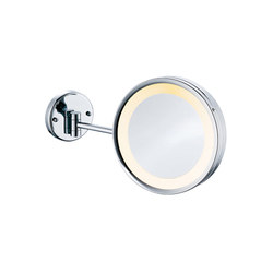 Hotel | Wall Mounted Led Magnifying Mirror | Specchi per trucco/barba | BAGNODESIGN