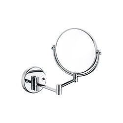 Hotel | Wall Mounted Double Arm Magnifying Mirror | Specchi per trucco/barba | BAGNODESIGN