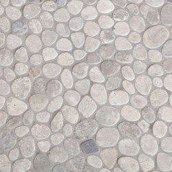 Cobbles - Sterling Grey Marble Cobbles | Natural stone tiles | Island Stone