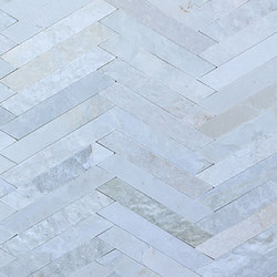 Cross Strips - Himachal White | Dalles en pierre naturelle | Island Stone