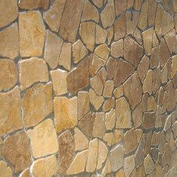 Large Random - Tan Marble | Mosaïques en pierre naturelle | Island Stone