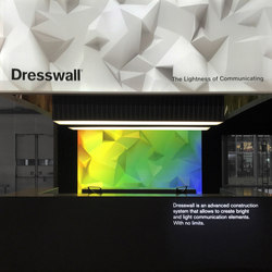 Light ceiling | Textile systems | Dresswall