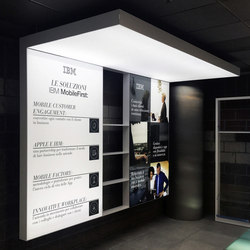 Light Freestanding | Suspended | Lightboxes | Dresswall