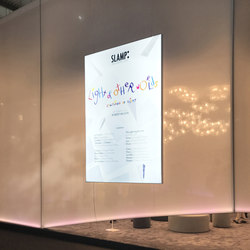 Light Freestanding | Information totems | Dresswall