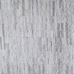 Mini Split - Budis Creme Marble Cladding | Mosaïques en pierre naturelle | Island Stone