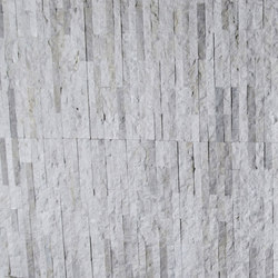 Mini Split - Budis Creme Marble Cladding | Natural stone mosaics | Island Stone