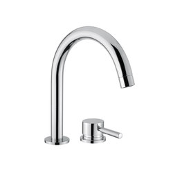 M Line | 2 Hole Deck mounted Basin Mixer | Wash basin taps | BAGNODESIGN
