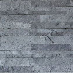 Parallels V - Silver Quartzite Cladding | Mosaici | Island Stone