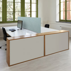 APN Area Flex Opti 45 | Table dividers | Akustik Planung Nord