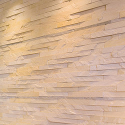 Rustic Cladding - Sandstone Mint | Natural stone mosaics | Island Stone