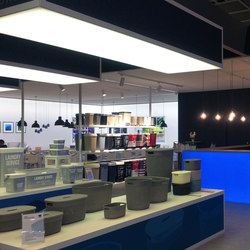 Lightcube and Ring | Illuminated ceiling systems | Dresswall