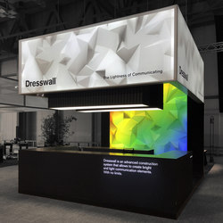 Exhibition | Space design | Lightboxes | Dresswall