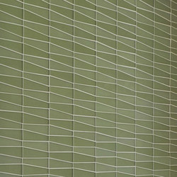 Waveline - Seagrass Glass | Mosaïques verre | Island Stone