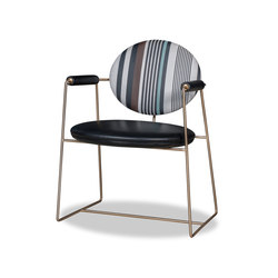 GEMMA | S.E. PRINTED Chair | Visitors chairs / Side chairs | Baxter