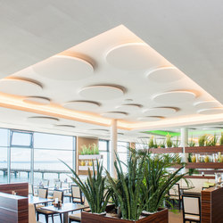 APN Vinta A (z) circle | Illuminated ceiling systems | apn acoustic solutions