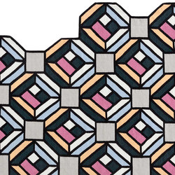 Parquet Tetragon | Tappeti / Tappeti design | GAN