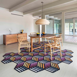 Parquet Hexagon | Tapis / Tapis design | GAN