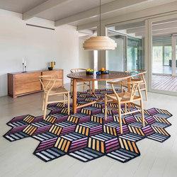Parquet Hexagon | Tapis / Tapis design | GAN