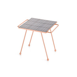 Mix & Match Table Copper blue | Plateaux | GAN