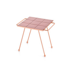 Mix & Match Table Copper pink | Plateaux | GAN
