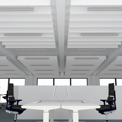 APN Lamella A rectangle | Illuminated ceiling systems | apn acoustic solutions