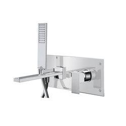 Mezzanine | Concealed 4 Hole Bath Shower Mixer | Rubinetteria per vasche da bagno | BAGNODESIGN
