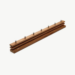 Cutter Coat Rack 100 | Hook rails | Skagerak