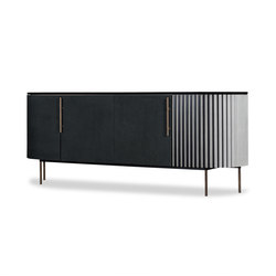 PLISSÉ Low cabinet | Buffets / Commodes | Baxter