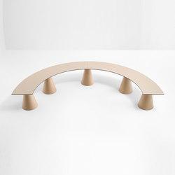Ikon bench 863_1C | Bancos de jardín | PEDRALI