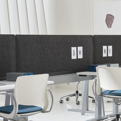 Expansion Cityline | Table dividers | Teknion