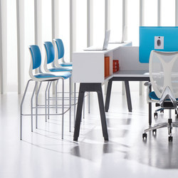 Expansion Cityline | Standing tables | Teknion
