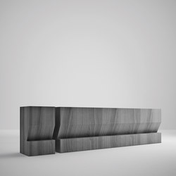HT101 poggia | Waiting area benches | HENRYTIMI
