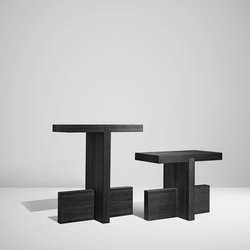 HT113 incrocio | Bar stools | HENRYTIMI