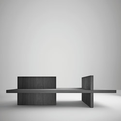HT116 incrocio | Waiting area benches | HENRYTIMI