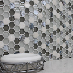 Sea Jewel Crème | Glass mosaics | Cancos