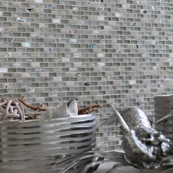 Sea Jewel Silver | Glass mosaics | Cancos