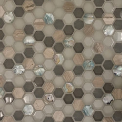 Sea Jewel Silver | Mosaici vetro | Cancos