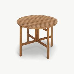 Selandia Table Ø94 | Tavoli da pranzo da giardino | Skagerak