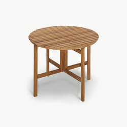 Selandia Table Ø94 | Tables à manger de jardin | Skagerak