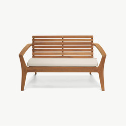 Regatta Lounge Bench | Garden benches | Skagerak